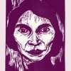 Woodcut of Marian Anderson