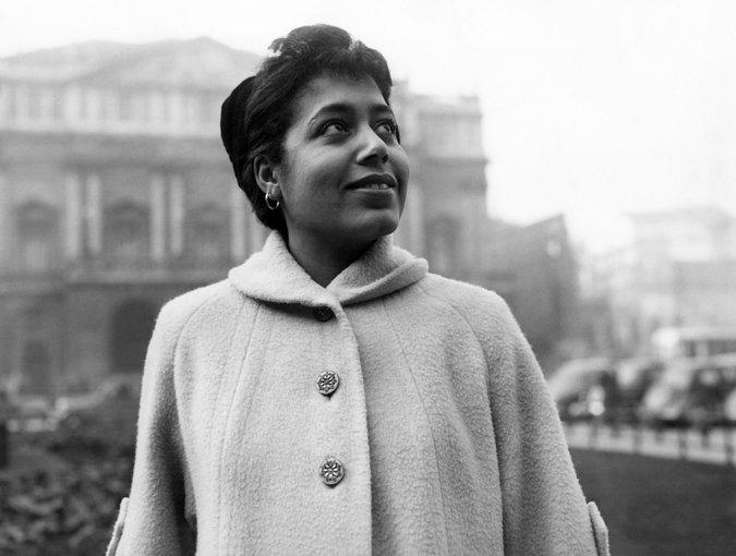 Mattiwilda Dobbs in Milan 1953